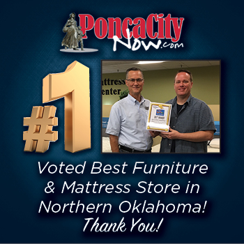 Voted Best Furniture Store in Northern Oklahoma