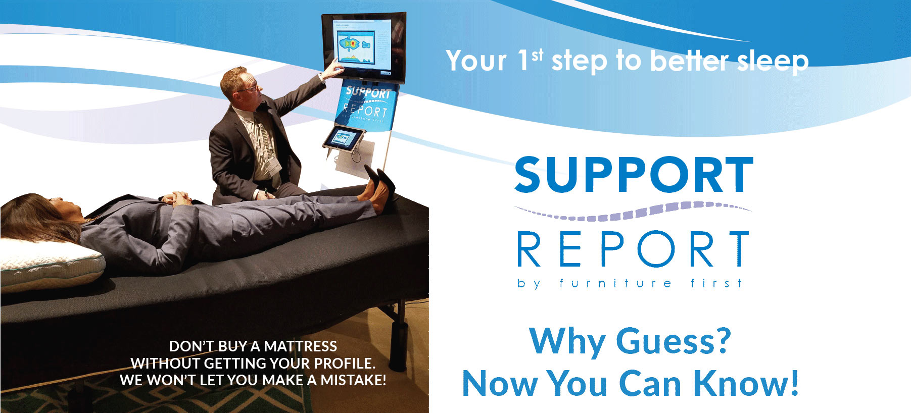 Your first step to better sleep | Support Report